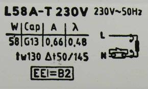 Ballast magnétique détail